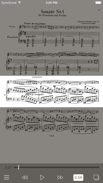 Brahms Violin Sonatas screenshot-1