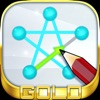 一筆書き GOLD - 無料の 脳トレ パズル ゲーム