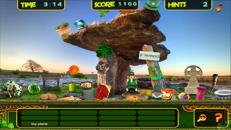 St. Patrick's Lucky Irish Day – Hidden Object Spot and Find Objects Differences Holiday Game screenshot-3