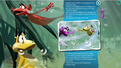Aqua Dragons Sea Friends Interactive Book screenshot four