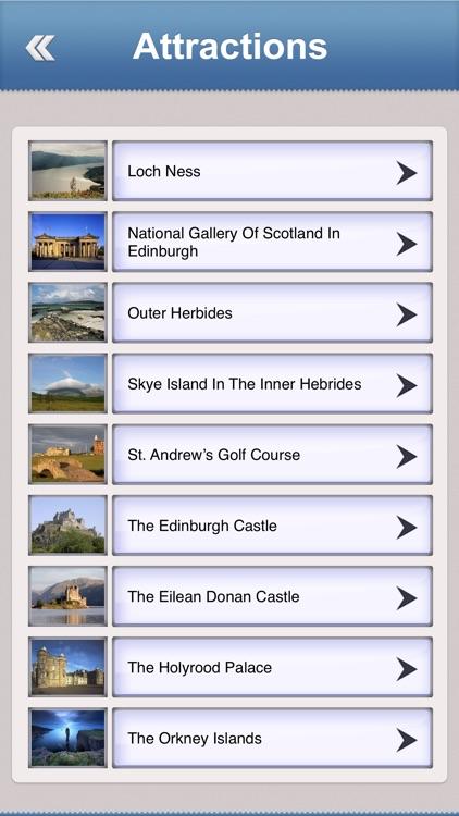 Scotland Offline Travel Guide
