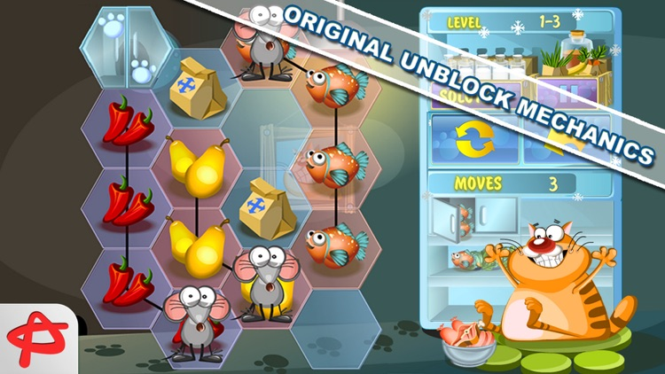 Steal the Meal: Unblock Puzzle screenshot-0