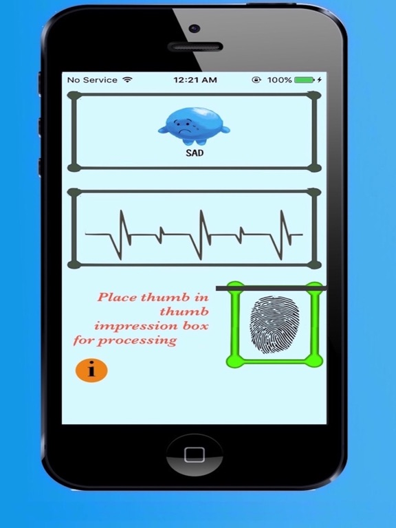 Free Mood Detector with finger prints-ipad-2