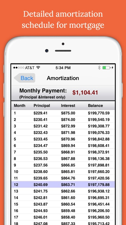 easy mortgages mortgages calculator by mobile innovations llc