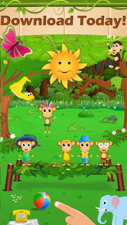 Toddlers Five Little Monkeys screenshot-3