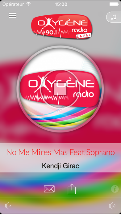 Oxygène Radio Lavalのおすすめ画像1