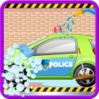 Polizia lavaggio auto Salon pulizia & simulatore di lavaggio icon