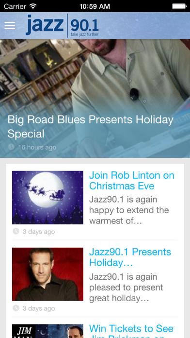 Jazz90.1 WGMC-FM screenshot two