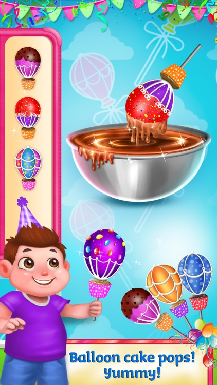 Yummy Birthday - Party Food Maker screenshot-3
