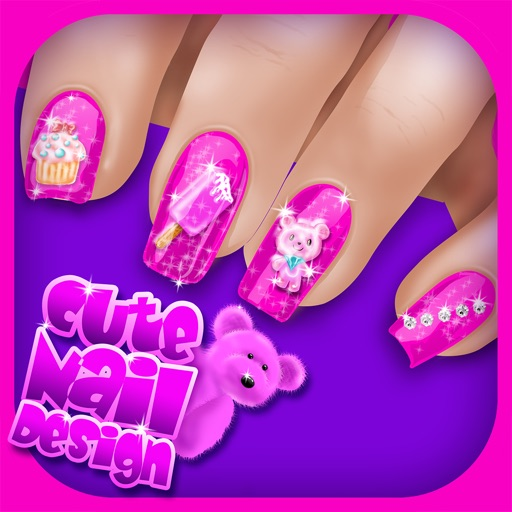 Nail Girl Games: Cute Nail Art Designs Games For Girls