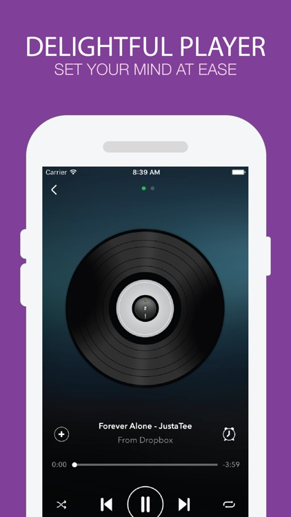 Hamado Music - Music Player for Cloud Drives screenshot-1