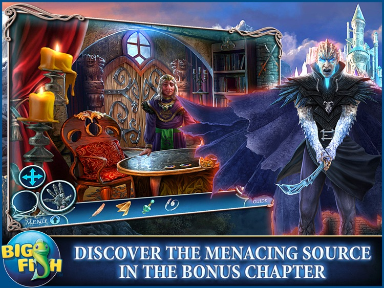 Dark Realm: Princess of Ice HD - A Mystery Hidden Object Game screenshot-3