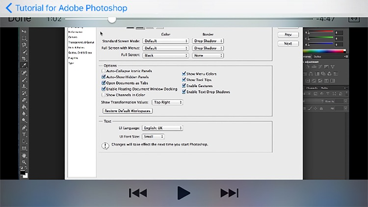 Tutorial for Adobe Photoshop screenshot-4