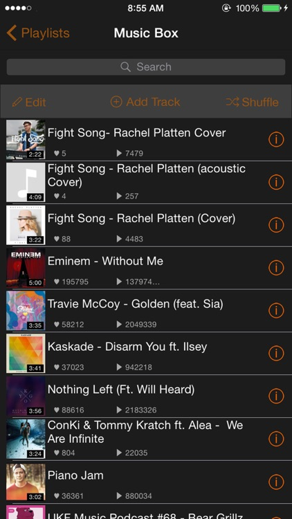 Free Music - MP3 Player & Playlist Manager screenshot-3