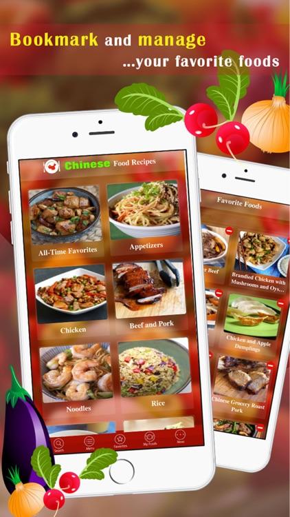 Chinese Food Recipes+ screenshot-3