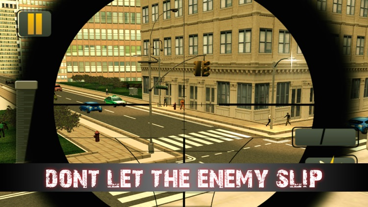 Modern City Sniper Assassin 3D : Bravo Sniper Gangster Shooter - Free HD 2016 screenshot-4