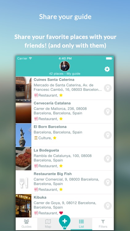 Placy - The guide of your favorite places