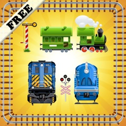 Toy Train Puzzles for Toddlers and Kids ! FREE