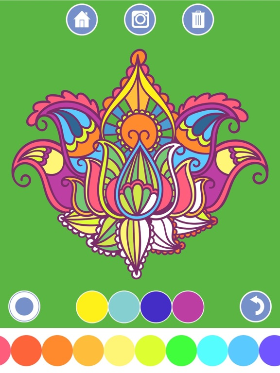 Screenshot 2 For My Coloring Book