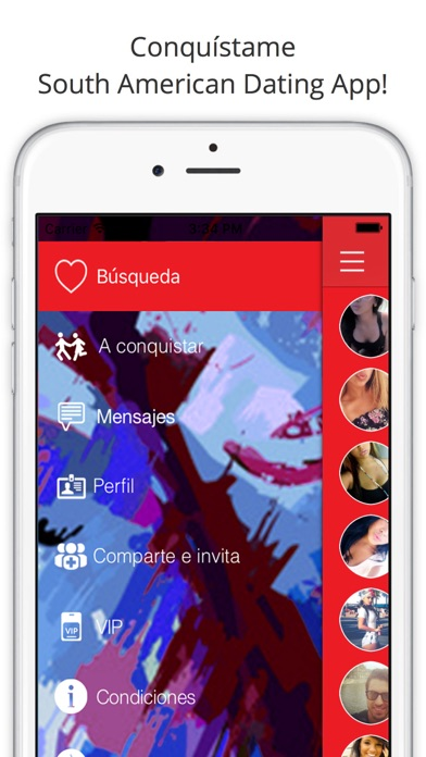 download Conquistame - South American Dating App! Meet Latino Singles, Chat and Love apps 0