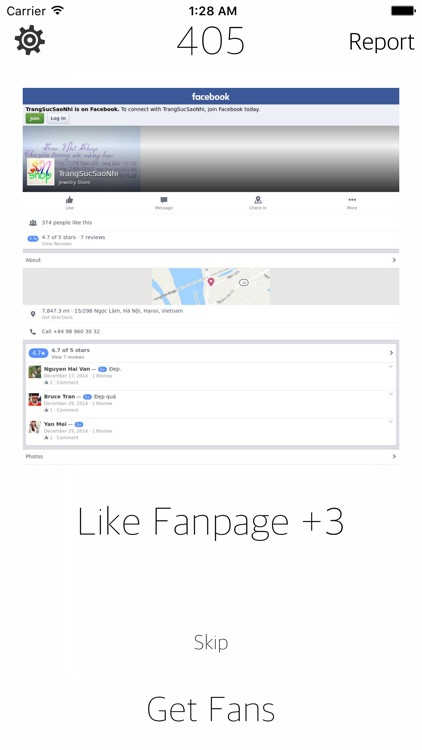 Get Fans on your Facebook Page