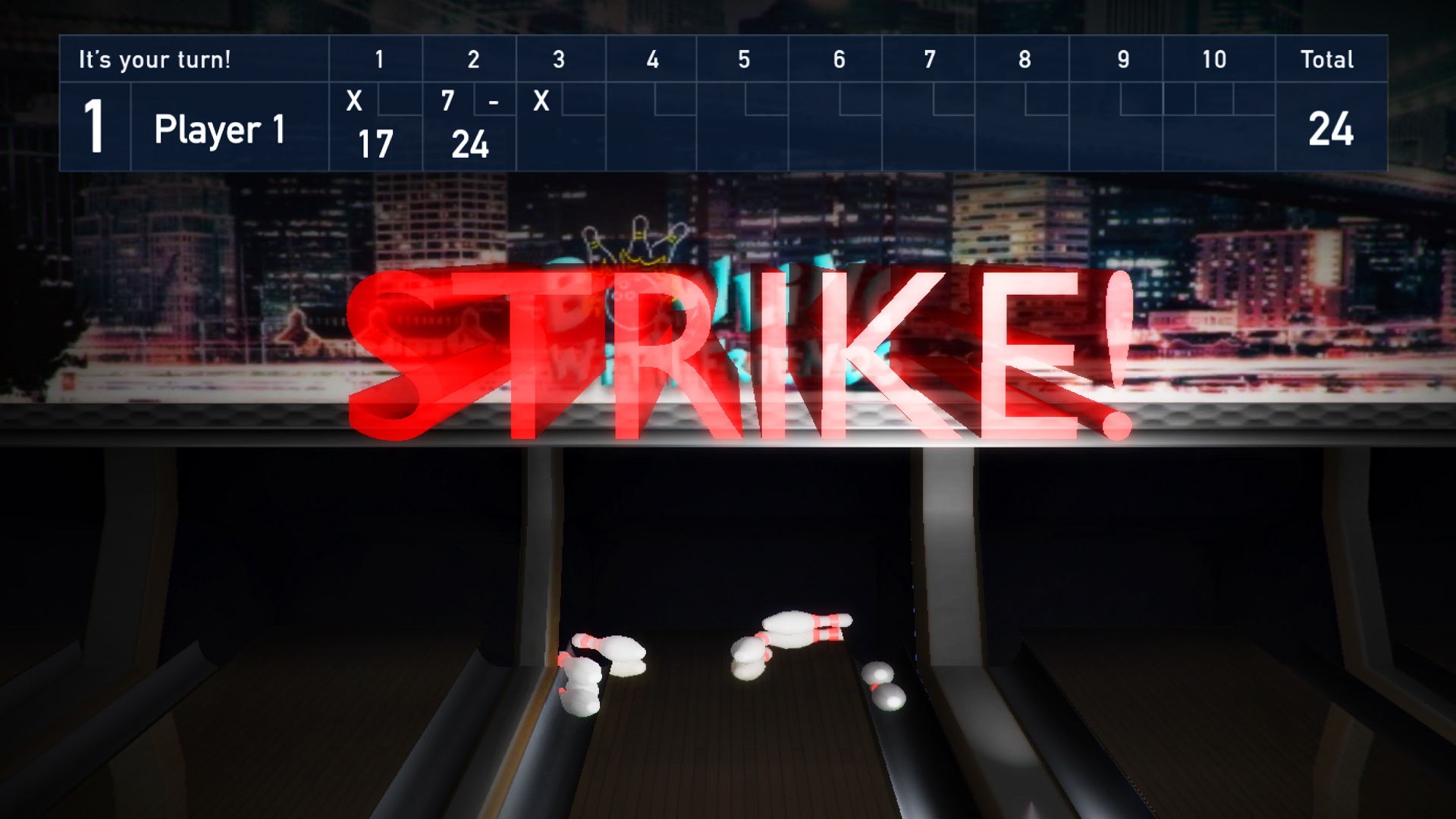 Bowling Pro 2016 — Ten Pin Multiplayer Strike screenshot 3