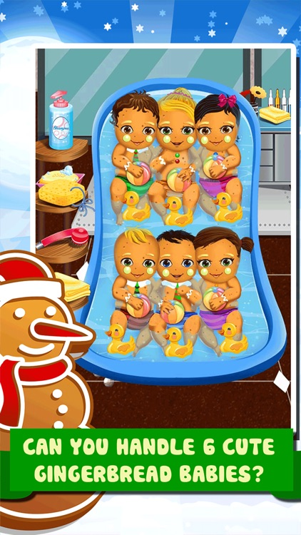 Little Christmas Babies Doctor Salon -  Spa Cooking Food Kids Games for Girls!