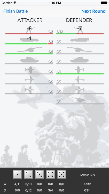 Probability Calc for Axis & Allies® screenshot-3