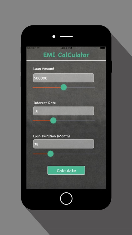 EMI Calculator - For Loan