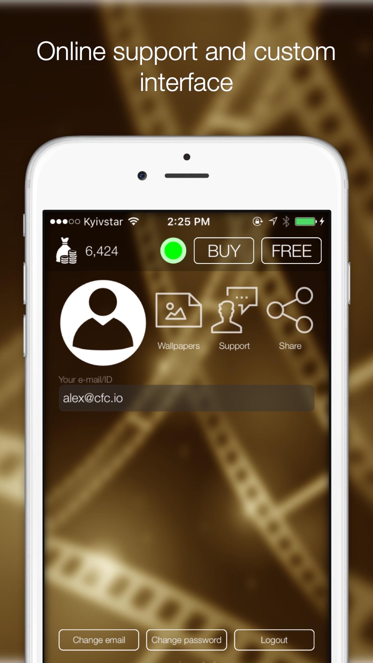 CFC Фильмы - Бесплатный кинотеатр онлайн Screenshot