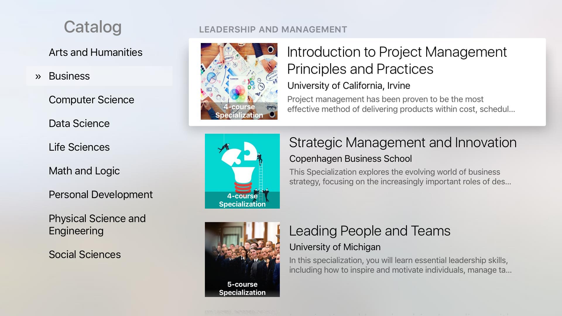 Coursera: Learn new skills screenshot 10