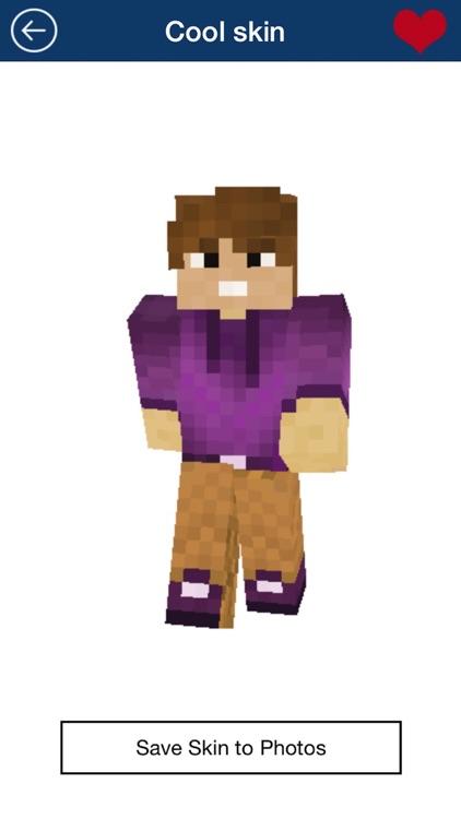 Free Boy Skins for Minecraft PE