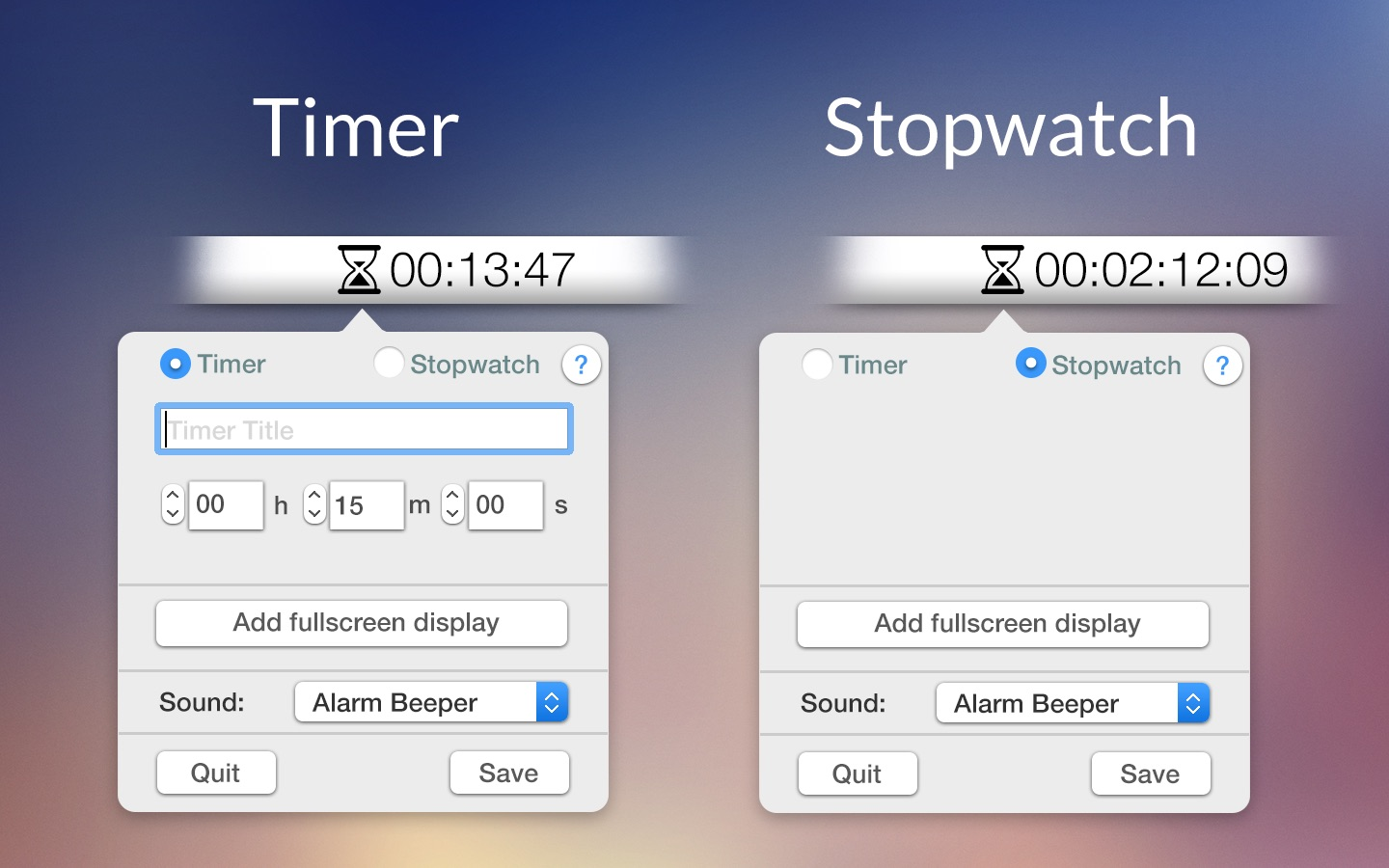 ‎Time Manager on the Mac App Store