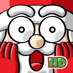 Santa Claus in Trouble ! HD - Reindeer Sled Run For The Christmas Gift
