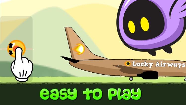 Lucky Airways vs Flying Bird, Chicken, Fish and Pig screenshot-3