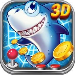 暴走捕鱼3D-2016年最新电玩城捕鱼