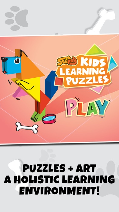 Kids Learning Puzzles: Dogs, My Math Educreations Screenshot on iOS