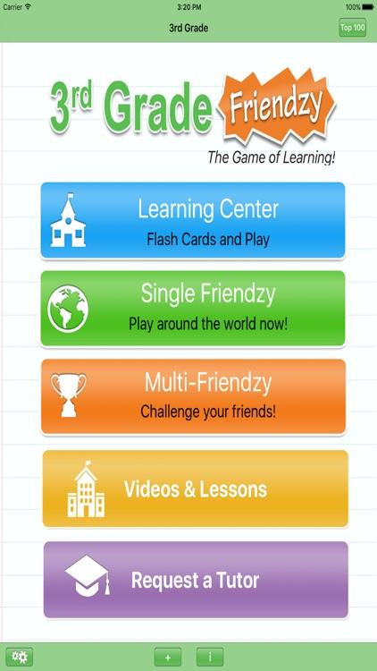 3rd Grade Friendzy - Reading, Math, Science screenshot-0