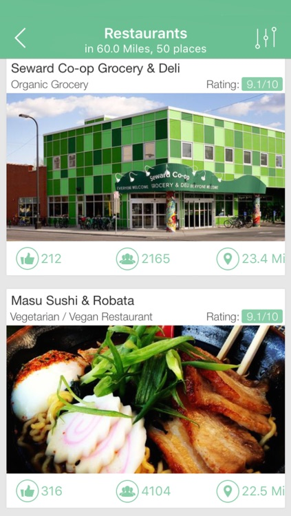 Vegetarian and Vegan Restaurants Finder screenshot-4