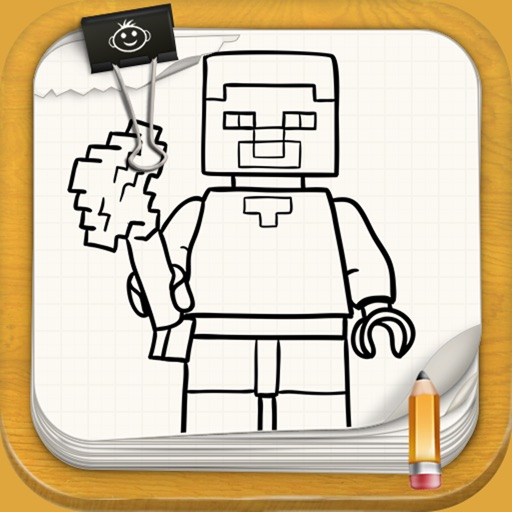 Learn To Draw Minecraft Lego Version