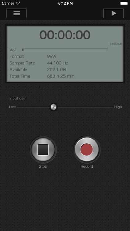 PCM Recorder Pro screenshot-3