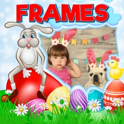 Happy Easter Frames Photo Editor