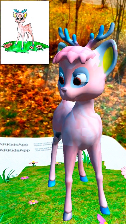 ARKids - AR Сoloring pages for girls. 3D effect augmented reality games.