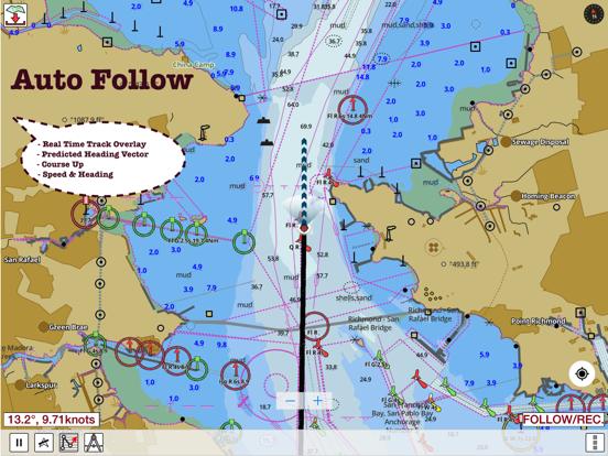 Screenshot #4 pour i-Boating: Nautiques Cartes