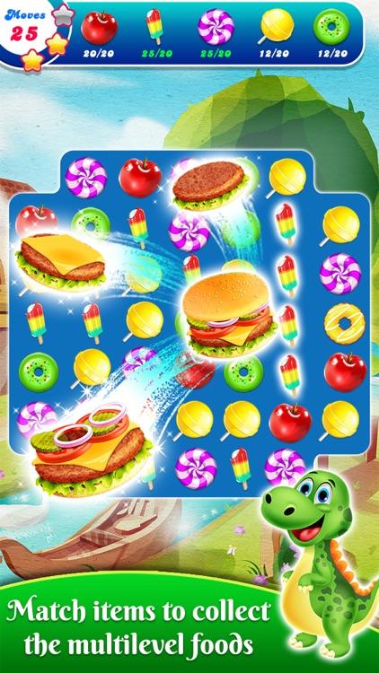 Food Splash-Free Candy Matching Puzzle Game screenshot-4