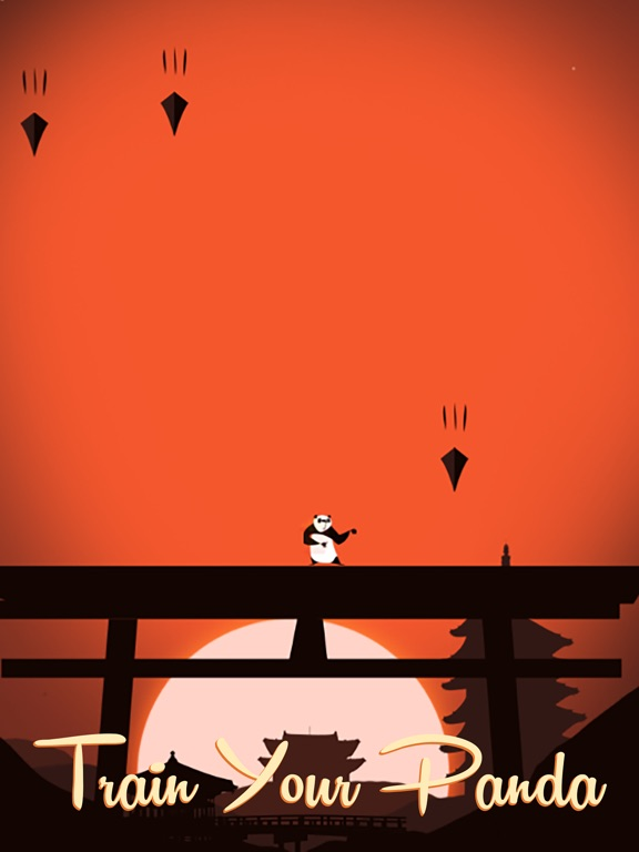 Panda Warrior - Kungfu Samurai-ipad-4
