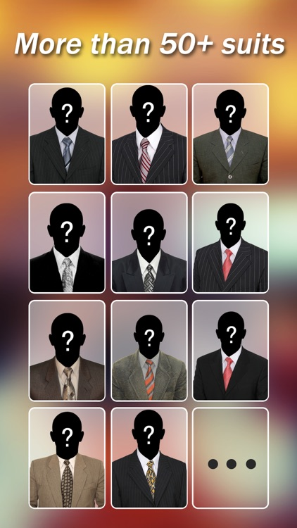 Man Suits - Fashion Shop Closet, Montage Face Photo Editor screenshot-4