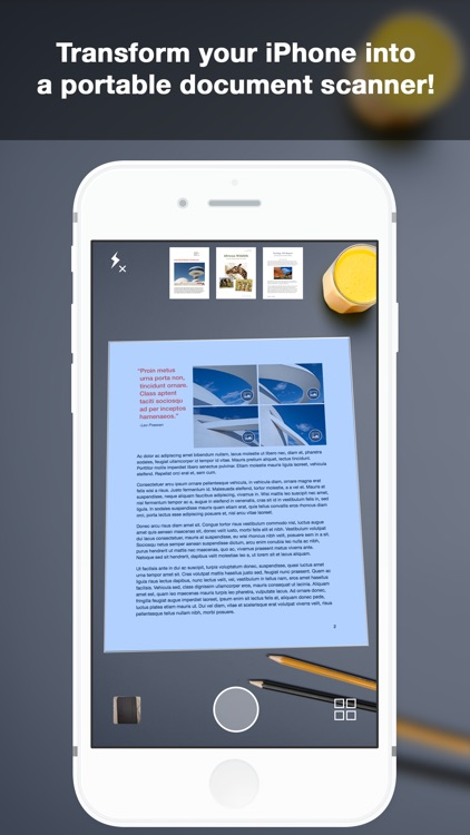 Scanner+ Pro: a Document to PDF & JPG scanner