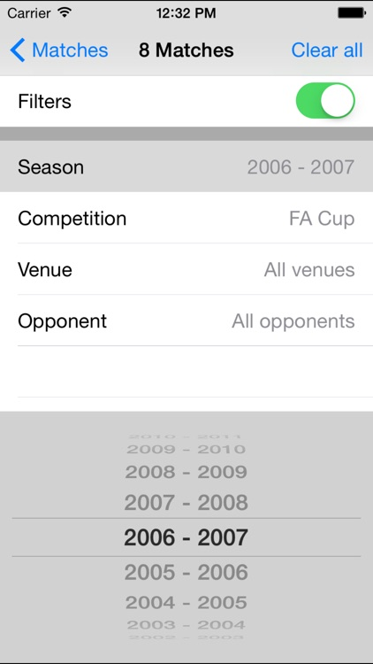About Man Utd: facts & stats for Manchester United screenshot-3