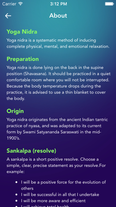 Yoga Nidra - Guided Relaxation Meditation Practice screenshot four